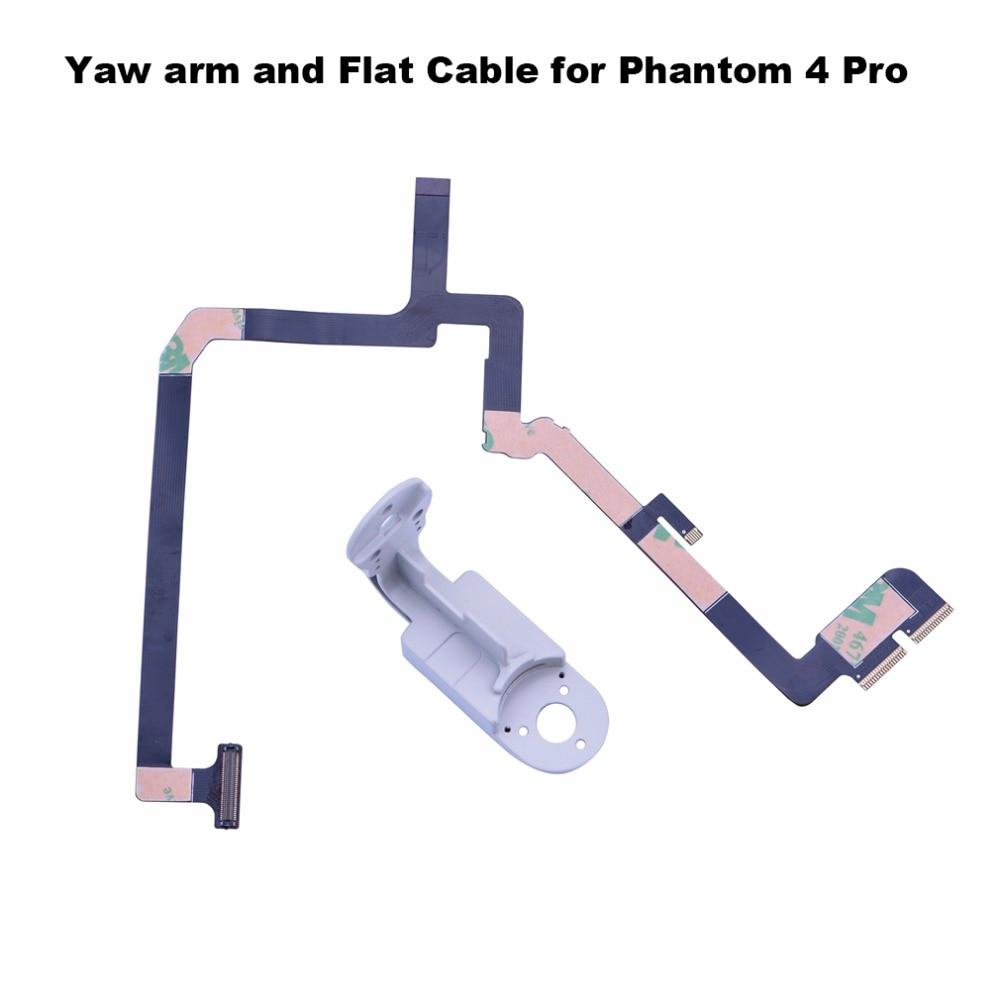 ribbon flat cable flex flexible wire yaw arm bracket for dji phantom 4 pro advanced drone gimbal camera repairing spare parts [ 1000 x 1000 Pixel ]