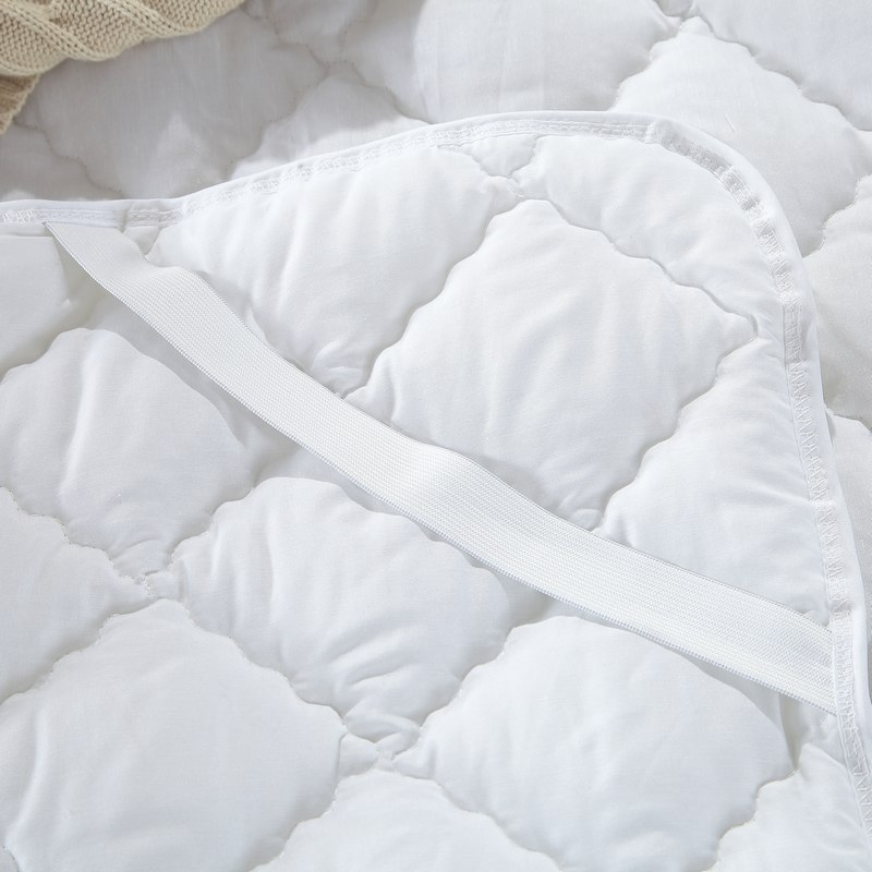 Streng 100% Baumwolle Matratzenauflage Protector Gesteppte Bettlaken Königin König Twin Voll Matratzenbezüge Möbel
