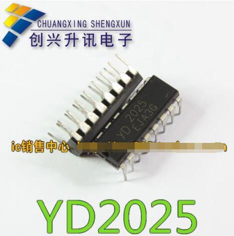 1pcs/lot  YD2025 H DIP-16 IC