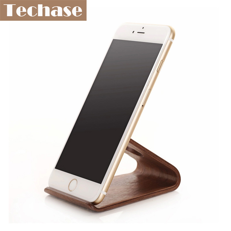 Comprar titular de teléfono móvil de madera para accesorios de - Accesorios y repuestos para celulares - foto 1