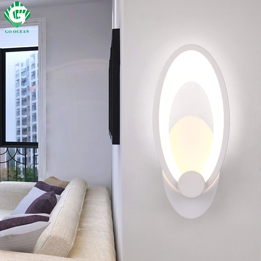 GEHEN OZEAN Wandleuchten Bad Lichter Dekor Wandleuchte Innen Schlafzimmer FÜHRTE Moderne Wandleuchter Leuchten Loft Wandleuchte