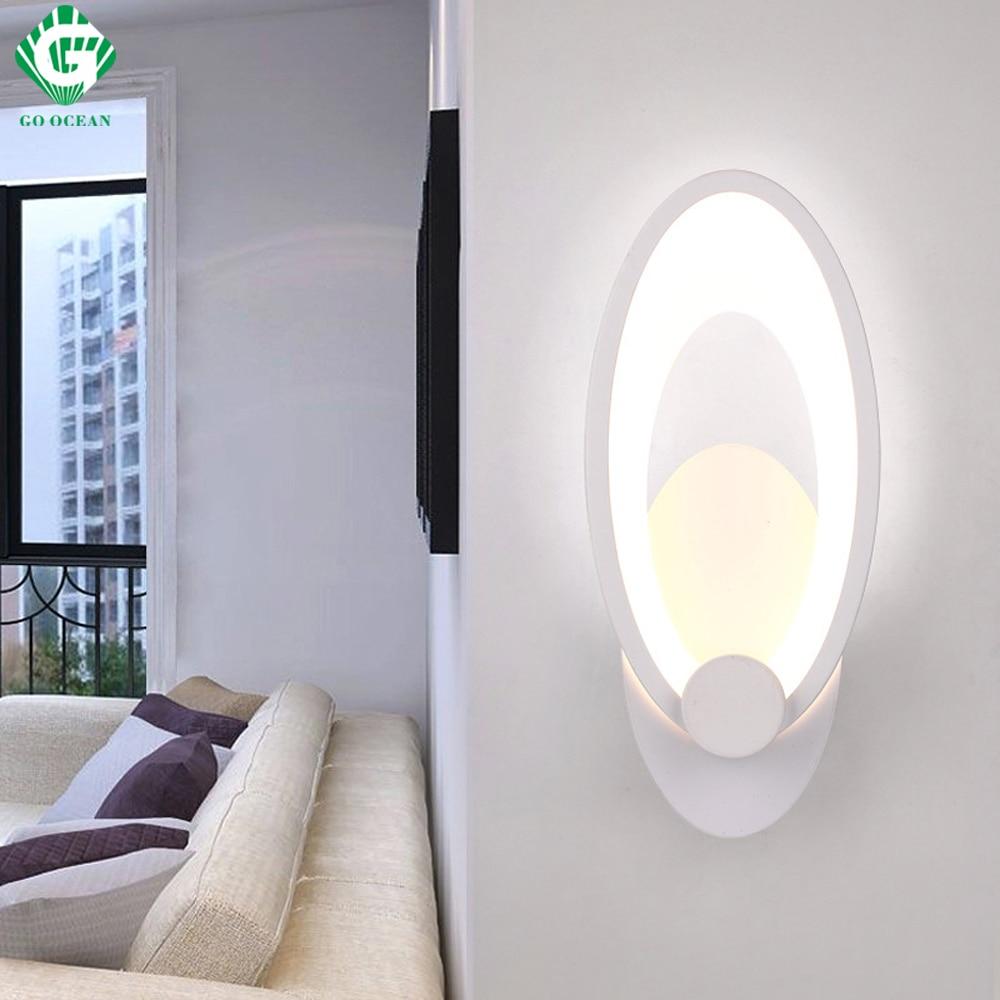 Illuminazione Bagno A Parete us $20.18 15% di sconto|go ocean lampade da parete luci del bagno decor  lampada da parete camera da letto indoor led moderna applique da parete