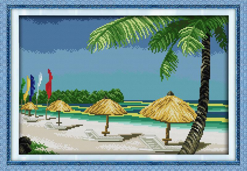 embroidery cross counting diy needlework free cross stitch