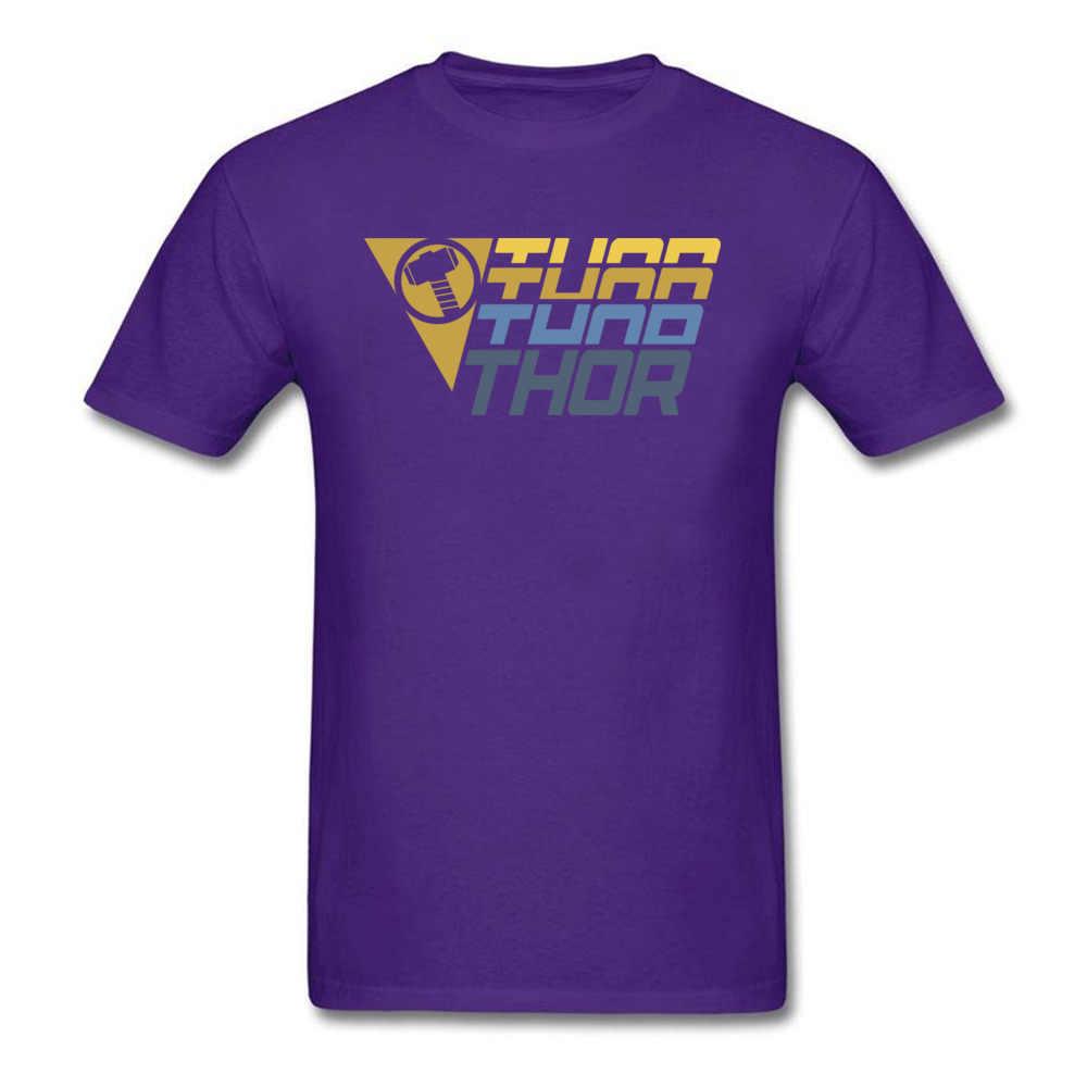Vintage thor logo t-shirts de algodão dos homens de manga curta t camisas preto topos camisetas engraçado ano novo geek designer roupas