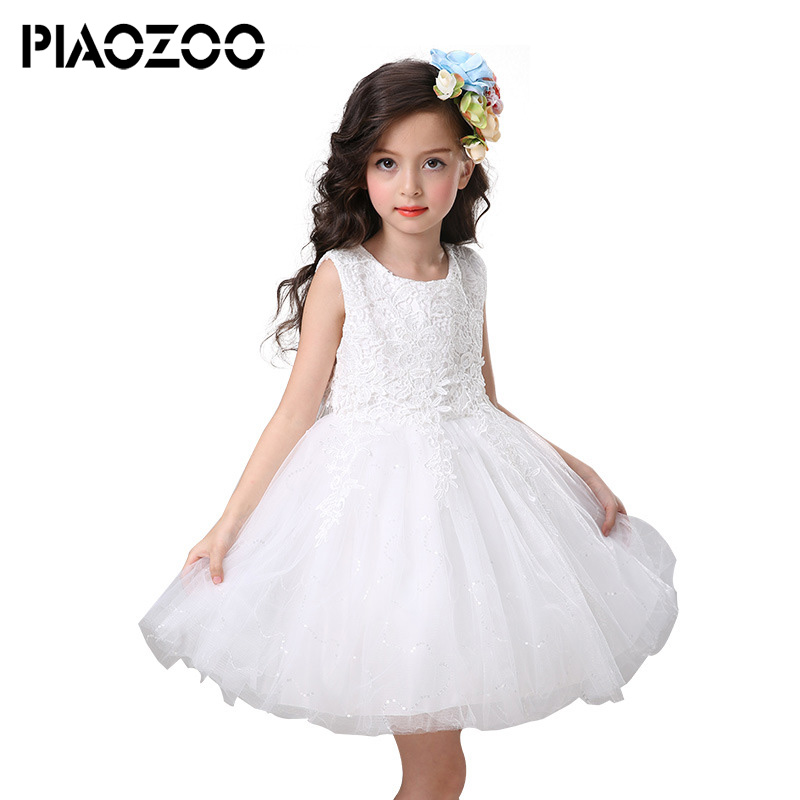 New kids princess wedding dresses Baby Girls Party Lace Tulle Gown tutu dress dreamlike dress up costume for kids Sundres P35 suton baby girls dresses summer tutu princess baby flower costume lace tulle baby casual party dress for 2 6 years kids dresses