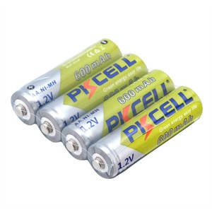 Image 2 - 4~32 Pieces Pkcell 1.2V AA 600mAh Ni MH Rechargeable Battery nimh Batteries for Home Garden Solar Lights