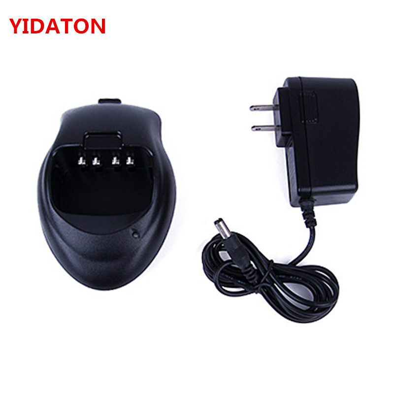 YIDATON New Desktop Charger For TYT TH-F5 Walkie Talkie Two Way Radio TH-F5 Charger Charging