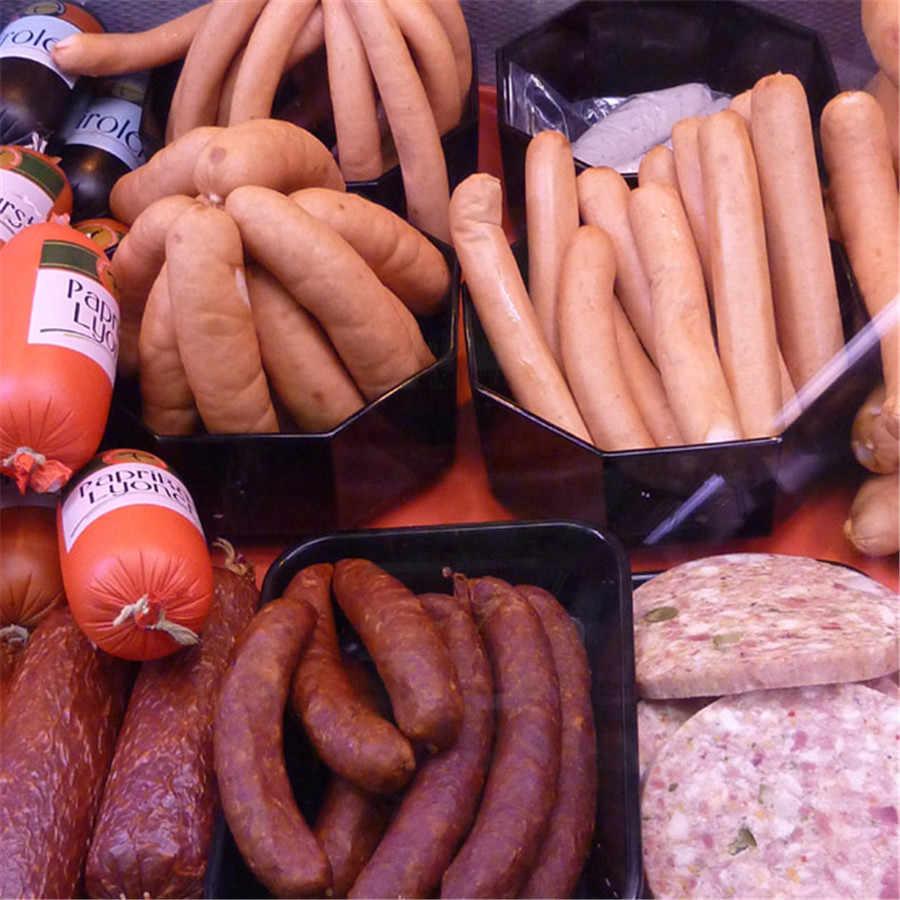 Best selling 42 Meters 3pcs/lot Diameter 26mm sausage halal Edible  artificial Collagen casing free shipping sausage skin cover