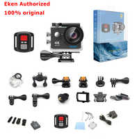 Eken 4K di Azione della macchina fotografica Originale EKEN H9/H9R a distanza Ultra HD 4K WiFi 1080P 60fps sport impermeabile pro drone fotocamera