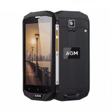 Original AGM A8 IP68 Водонепроницаемый 5.0 дюймов 4050 мАч 4 г LTE смартфон MSM8916 Quad Core 3 ГБ Оперативная память 32 ГБ Встроенная память 13.0MP OTG Мобильный телефон