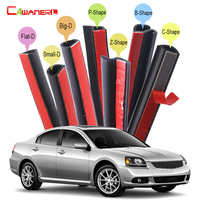 Rubber Car Seal Sealing Strip Kit Sound Control Auto Seal Edge Trim Weatherstrip Dust Proof For