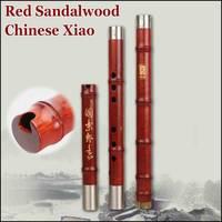 Красный сандал Северной Сяо китайский деревянная флейта Дон Сяо Профессиональный традиционный музыкальный инструмент flauta 8 отверстий g/F
