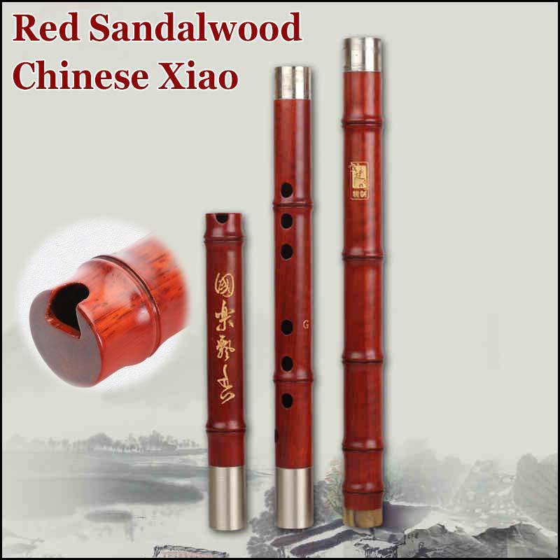 Red Sandalwood Northern Xiao Chinese Wooden Flute Dong Xiao Professional Traditional Musical Instrument Flauta 8 Holes G/F Key 5set white paint traditional chinese bamboo flute dizi pluggable f key musical instrument