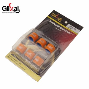 Glixal 16X13mm High Performance Racing Variator Roller Weights Set 139QMB GY6 50cc - 100cc Scooter Moped ATV Go-Kart (5g-10g)(China)
