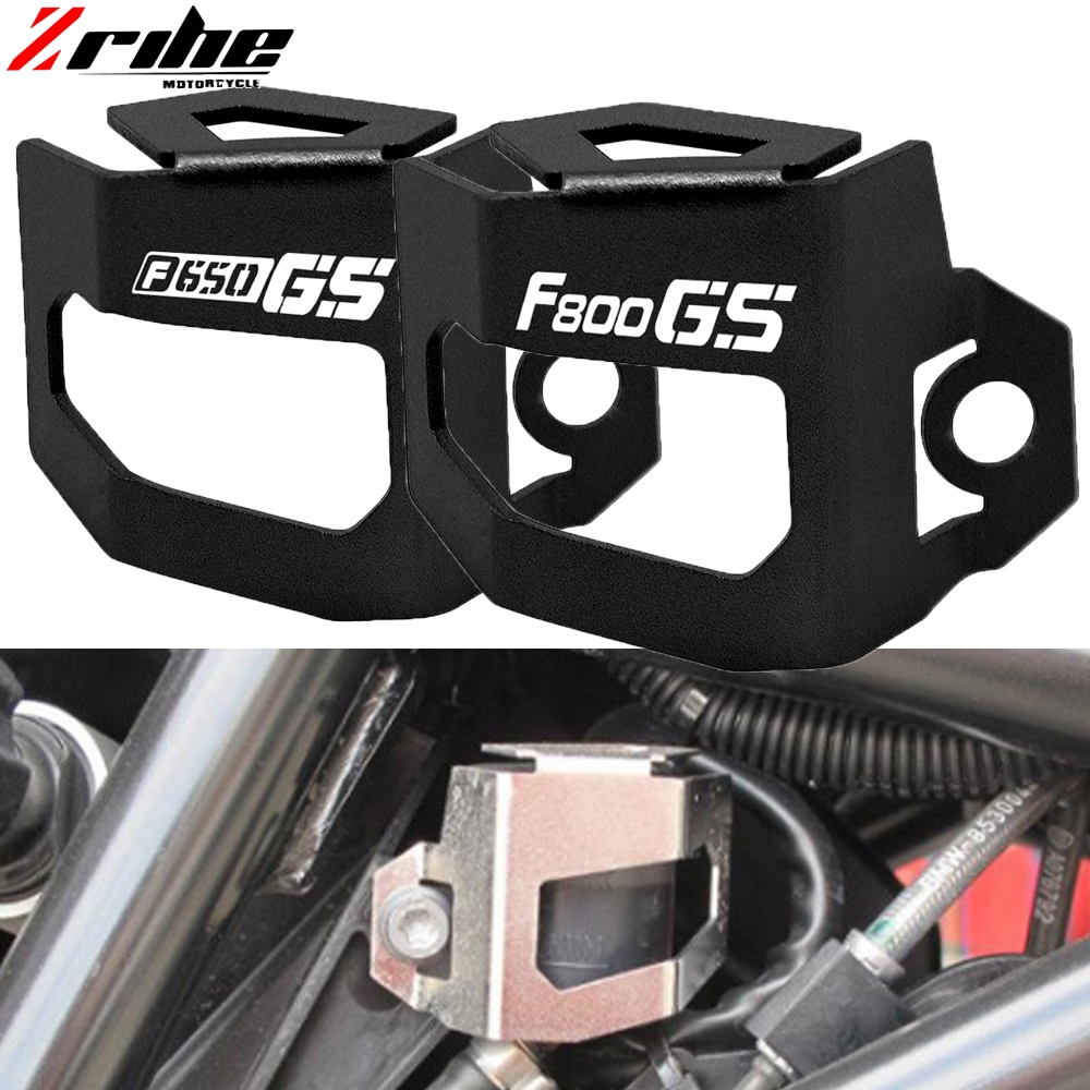 For BMW F650GS F800GS 08-12 Rear Brake Fluid Reservoir Guard Protector Oil Cup Cover F 650 800 GS 2008 - 2012 2009 2010 2011