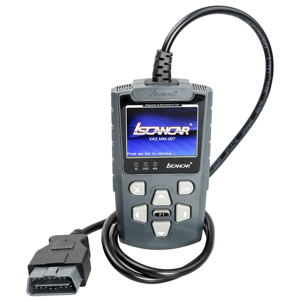 Xhorse VAG-MM007 Diagnostic and Maintenance Tool Support Offline Refresh for VW, Audi, Skoda, Seat & <font><b>MQB</b></font> Mileage Correction image