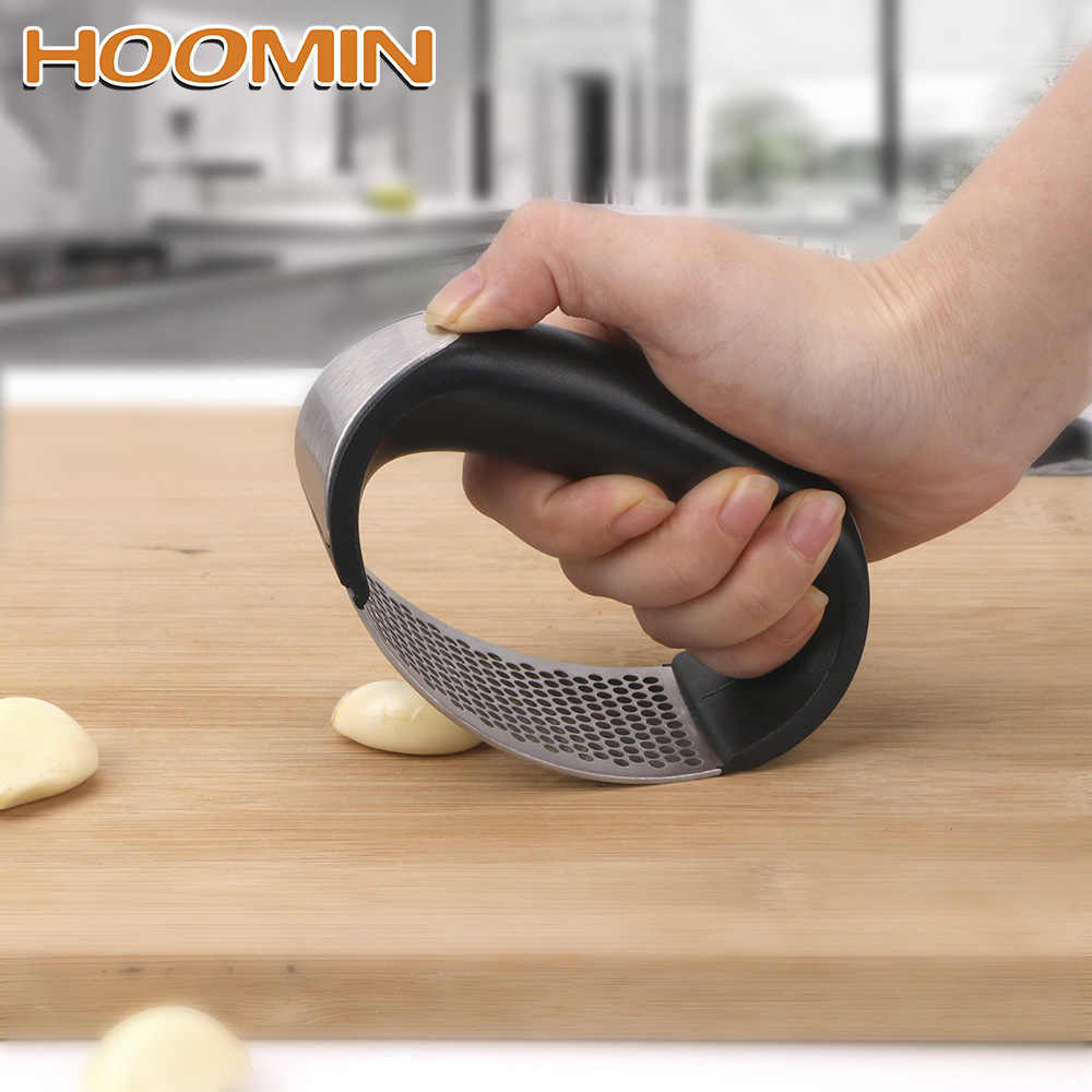 HOOMIN ail meulage trancheuse gingembre broyeur hachoir Cutter ail Presses cuisson Gadgets outils cuisine accessoires