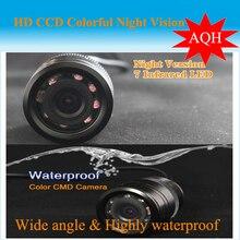 2016 Facory promoción cámara de visión trasera de reserva del revés aparcamiento Monitor de la cámara con infrarrojos de visión nocturna 170 degree
