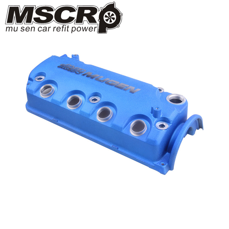 Image 5 - MUGEN Type R Rocker Valve chamber cover For Honda Civic D16Y8 D16Y7 VTEC SOHC-in Cylinder Body & Parts from Automobiles & Motorcycles