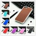 2016 de la moda de silicona waffle suelas de goma suave casos de la cubierta para iphone 5 5s 4 4s