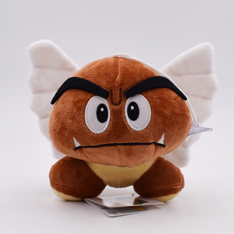 Super Mario Bros Goomba Plush Cartoon Dolls Peluche Toys 12CM 5styles Choose PP Cotton Toys Figures Dolls For Baby Gifts