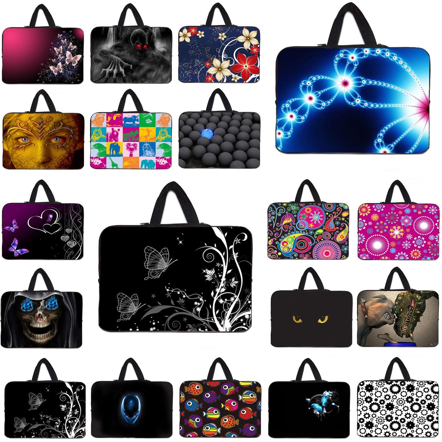 10 Mini PC Laptop Bag 15.6 15 14 13 13.3 12 17 Notbook Handle Inner Cover Pouch Women Chromebook Bag For Macbook Chuwi Lenovo HP
