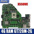 Amazoon Новинка X550VC материнская плата для ноутбука ASUS X550VC R510V X550V X550 тест оригинальная материнская плата 4G RAM GT720M-2G