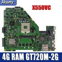 Amazoon X550VC Laptop motherboard for ASUS X550VC R510V X550V X550 Test original mainboard 4G RAM GT720M 2G