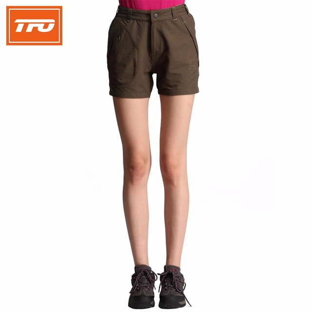 67f4e0a8bb TFO Hiking Shorts Women Brand Quick Dry Summer Breathable Outdoor Shorts  Camping Shorts Solid Pocket Sport