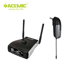ACEMIC  PR-8/GT-2 Professional stage antenna diversity wireless guitar bass microphone system