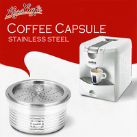 STAINLESS STEEL Coffee Filter Coffee Machine Metal Reusable Coffee Capsule Refilling Filter for Lavazza Espresso point