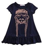 Summer Dress Baby Kids Girls Dress Ruffles Princess Short Sleeve Dress Clothes 2 3 4 5