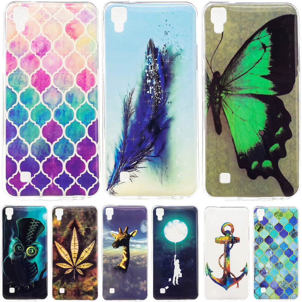 For LG X Power Case 5.3 inch Glossy TPU Back Cover Case For LG X Power K210 K220 K220ds Case Silicone Soft Protective Phone Bag