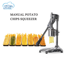 Vegetable Potato Slicer Manual Squeezer French Fry Super Long Fries Making Tool Kitchen Gadgets Crude Pasta Extruder