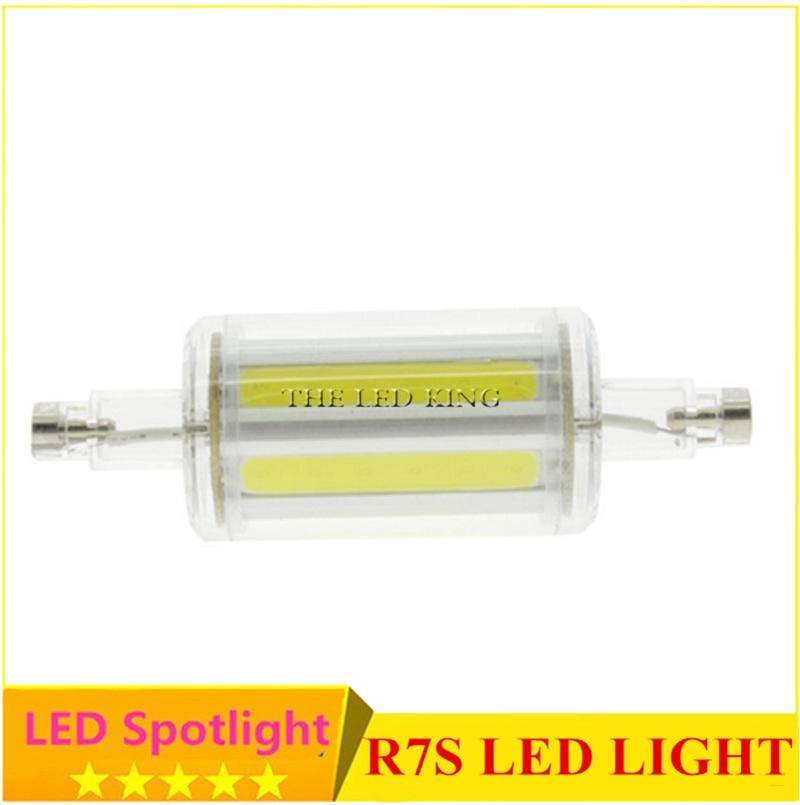 Super bright r7s led lamp 10w 15w 20w smd 2835 78mm 118mm for Led r7s 78mm 20w