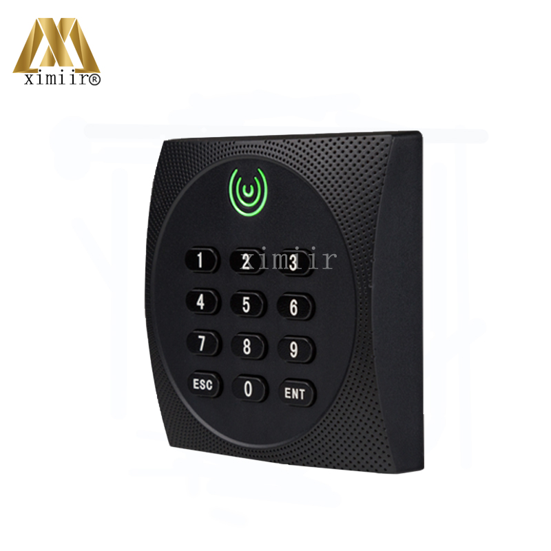 Good Quality ZK Access Control Card Reader Wiegand34 MF Card IC Card Reader IP64 Waterproof Smart Card Reader With Keypad KR602M ic usb reader 13 56mhz usb ic reader for user enrollment mf m1 card enroller page 2