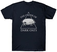 THE ORDER OF DARK OATS T SHIRT FUNNY PIG Harajuku Tops t shirt Fashion Classic Unique free shipping