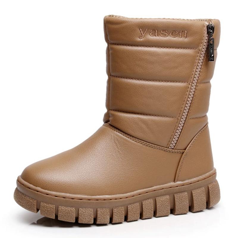 Women boots 2017 new arrivals fashion zipper waterproof non-slip snow boots warm plush winter shoes women mid-calf boots аксессуар чехол occa lizard collection для apple iphone 6 6s plus