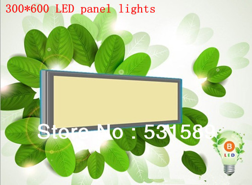 Free shipping 20W 300*600  Square smd  led  panel light Cool White/Warm White AC85-265V For kitchen led light bathroom light free shipping via dhl led panel light 600x600 48w high brightness led ceiling light white warm white light