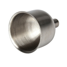 8mm Steel Funnel For Most Hip Flasks Flask Wine Pot Wide Mouth Stainless    HG99