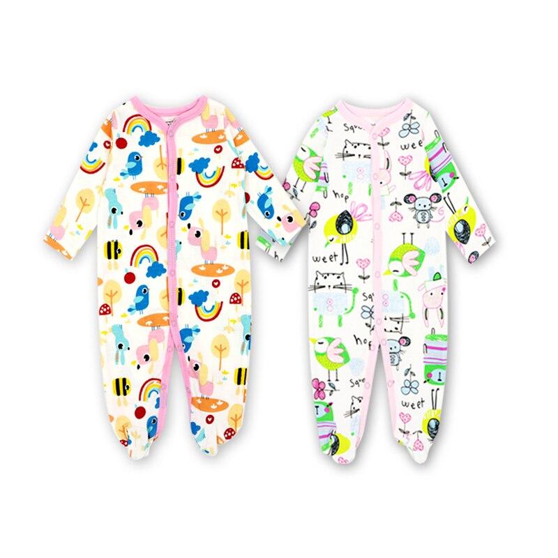 Odzież dla niemowląt 2018 Newborn Baby Boy Girl Romper Clothes Long - Odzież dla niemowląt - Zdjęcie 5