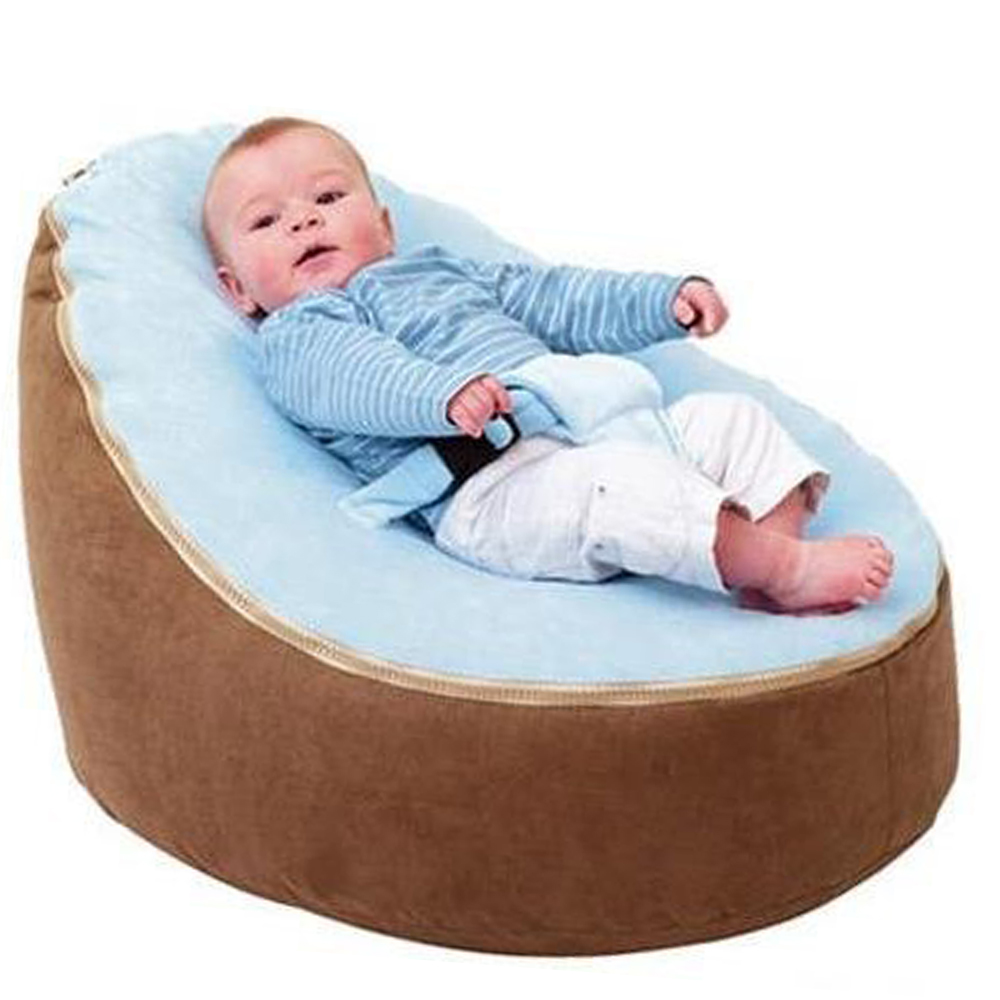 Furniture ...  ... 32792602869 ... 5 ... Levmoon Medium  Bean Bag Chair Kids Bed For Sleeping Portable Folding  Child Seat Sofa Zac Without The Filler ...