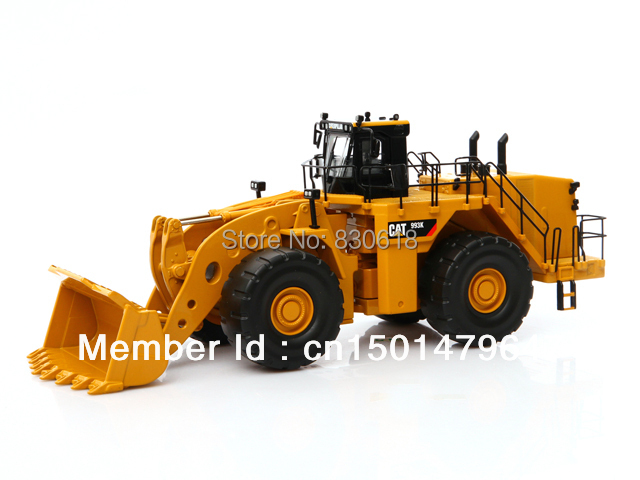 NEW IN BOX NORSCOT 1:50 SCALE CAT 993K WHEEL LOADER Byggekøretøjer legetøj