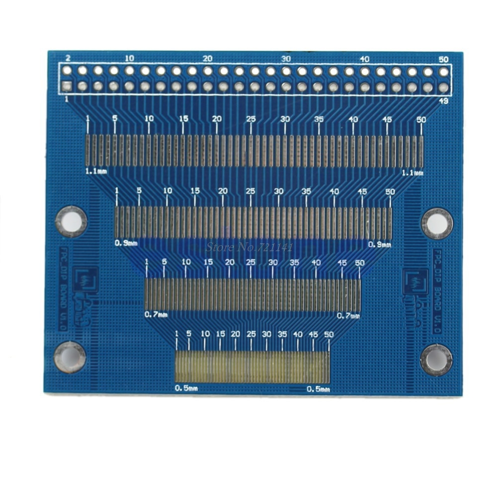 0.5mm To 1.2mm Pin Pitch Adapter PCB FPC Board 2.0-3.5inch TFT LCD SMD To DIP Electronic Module Dropship