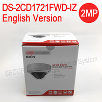 English Version DS 2CD1721FWD IZ Replace DS 2CD2725F IZS 2MP POE IP Security Camera Motorized Varifocal