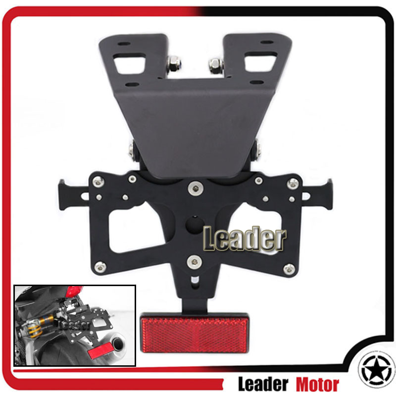 For YAMAHA YZF-R3 2015-2016 YZF-R25 2014-2015 Adjustable Fender Eliminator Registration Plate Bracket License Plate Holder bosnic ph control 1