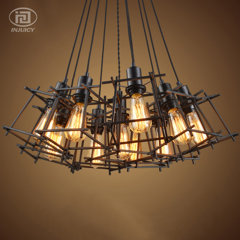Industrial Retro Vintage Edison Iron Birdcage Simple Ceiling Lamp Cafe Bar Shop Store Restaurant Pendant LightingIndustrial Retro Vintage Edison Iron Birdcage Simple Ceiling Lamp Cafe Bar Shop Store Restaurant Pendant Lighting