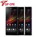 Хорошо рекомендуем Sony Xperia Z оригинальные сотовые телефоны Sony Xperia Z C6603 C6602 L36h 13.1MP камера 16 Г внутренняя память 2 Г RAM