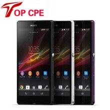 Разблокирована Sony Xperia Z оригинальный сотовый телефон L36h C6603 C6602 13.1MP камера 16 Г внутренняя память 2 Г ОПЕРАТИВНОЙ ПАМЯТИ Wi-Fi