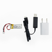 Hilbert 1pcs 7 4V 300mAh 30c Li Po Battery and charger For WLtoys F959 Airplane Spare